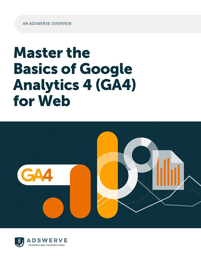 An Adswerve Overview: Master the Basics of Google Analytics 4 (GA4) for Web